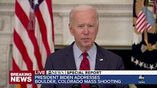 ABC News Special Report: President Biden addresses Monday's mass shooting in Boulder