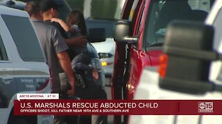 U.S. Marshals recover 2-year-old girl taken by father after officer-involved shooting