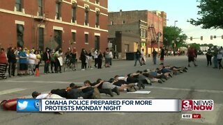 Omaha Police prepared for more protests Monday night