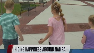 Nampa Rocks helps spread happiness - Video