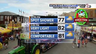 Spotty Showers Today  - Great Weekend Ahead - Video