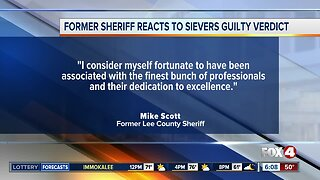 Former sheriff issues statement on Mark Sievers conviction