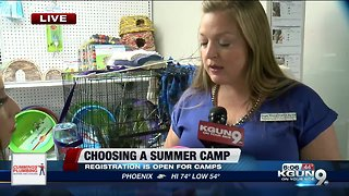 As temperatures start warming up, summer camp registrations start opening