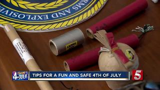 Nine Safety Tips For Having Your Own Fireworks Display - Video