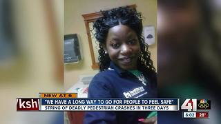 Advocates want change after 3 pedestrian deaths - Video