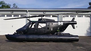 Speedycopter, World's First Amphibious Car Made From Helicopter - Video
