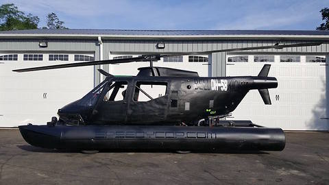 Speedycopter, World's First Amphibious Car Made From Helicopter