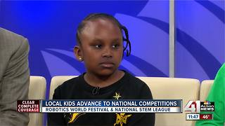 Local students compete in national robotics competitions - Video