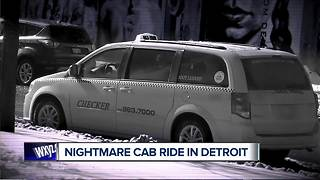 Cab ride turns into nightmare for metro Detroit woman after NAIAS Charity Preview - Video