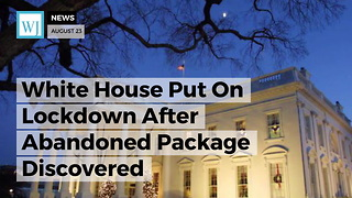 White House Put On Lockdown After Abandoned Package Discovered - Video