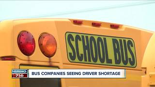 Bus driver shortage in WNY