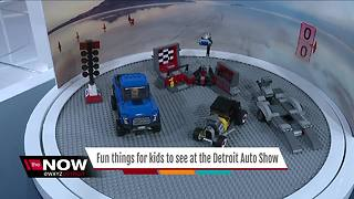 Fun things for kids to do at the auto show - Video