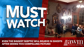 Even the biggest skeptic will believe in ghosts after seeing this compelling picture! - Video