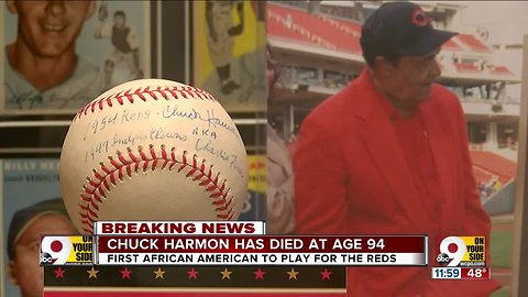 Chuck Harmon, first African-American Reds player, dead at 94