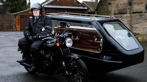 Fast and funeral – Speedy reverend takes motorcyclists for one last spin