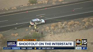 Man fires at Arizona State Trooper near Quartzsite - Video