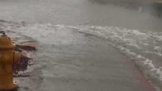 Heavy Rain Causes Flash Flooding in Las Vegas - Video