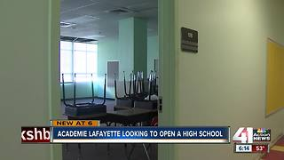 Academie Lafayette's expansion moves forward - Video