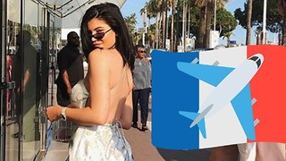 Kylie Jenner ESCAPES Family Drama And JETS To France!