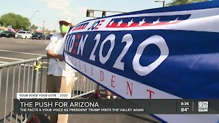 Big push for Arizona ahead of 2020 Presidential Election