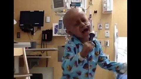 5-Year-Old Who Won Over The Internet With His Dance Moves, Celebrates His Last Day of Cancer Treatment