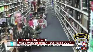 Man tells clerk he wants to kill his former coworkers - Video