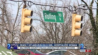 Catonsville hit-and-run kills a 12-year-old and critically injures a pregnant woman