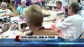Volunteers to take part in Annual Bags For Kids Sew-A-Thon - Video