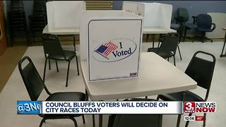Election day in Council Bluffs - Video