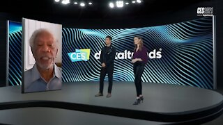 Morgan Freeman talks how musicians and entertainers are performing during the pandemic