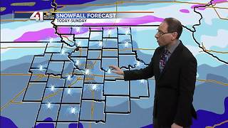 Jeff Penner Saturday Morning Forecast Update 2 2 10 18 - Video