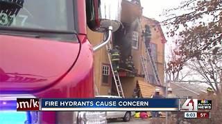 KCFD encounters faulty fire hydrants while working fire