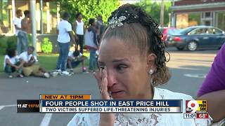 Four shot in East Price Hill - Video