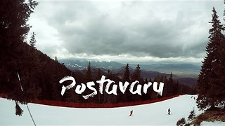 GoPro Footage Documents Father-Daughter Skiing Trip in Romania - Video