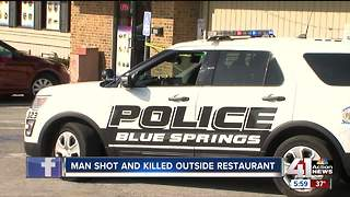 1 dead after shooting at Blue Springs restaurant - Video