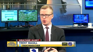 The latest: Cleveland is officially sub-zero and Trent Magill gives an update
