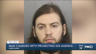 Lehigh Acres man arrested on charges linked to promoting ISIS propaganda