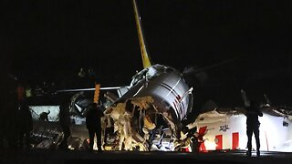 Turkish Plane Crashes After Skidding Off Runway In Istanbul