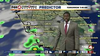 Hot and humid, few storms today - Video