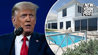 Donald Trump lists oceanfront Palm Beach mansion for $49 million