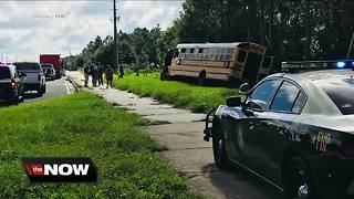 No students injured after Pasco school bus crash