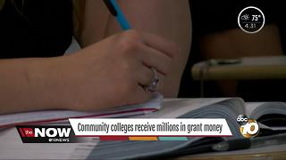 Community colleges get millions for career education programs - Video