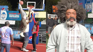 Nate Robinson POSTERIZES Shaq on 'Uncle Drew' Set - Video