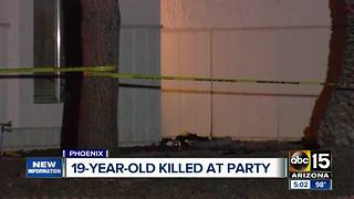 Authorities identify woman killed at Phoenix house party