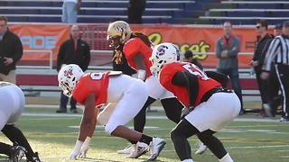 UCF OLB Shaquem Griffin at the Senior Bowl