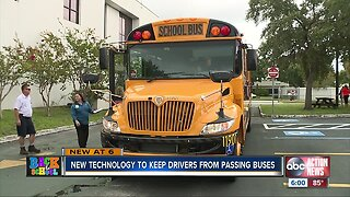 600+ drivers illegally pass school buses in Pinellas in one day