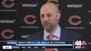 Nagy talks leaving KC for Bears head coach gig - Video