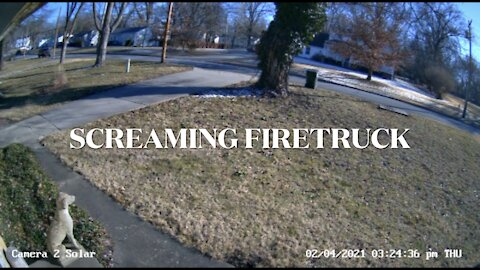 Screaming Firetruck