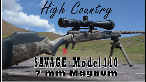 Savage Model 110 High Country 7 mm Magnum by Wapp Howdy with a Twisted Barrel