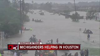 Michiganders helping in Houston - Video